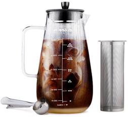 Large Cold Brew Coffee Maker  15 Quart Iced Brewed Tea Maker