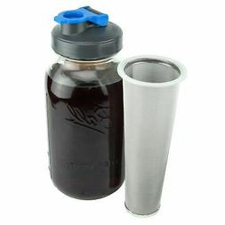 Cold Brew Coffee Maker with Flip Cap Lid by County Line Kitc