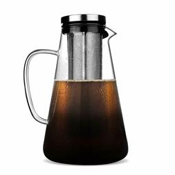 Cold Brew Iced Coffee Maker with Spout Iced Tea Maker 1.5L B