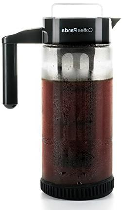 Cold Brew Coffee Maker - 1300ml  Premium Glass Pitcher wi...
