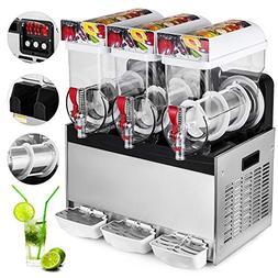 VEVOR Commercial Margarita Machine 3 Bowls 45L/11.9Gal Slush