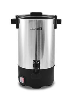 Elite Cuisine CCM-035 30-Cup Stainless Steel Coffee Urn Coff