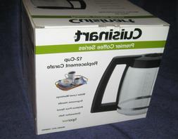 Cuisinart DCC-1200 PRC Replacement Glass Carafe Pot 12-Cup