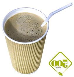 Disposable Double Walled Hot Cups - No Sleeves needed Premiu