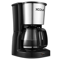 Aicok 10-Cup Drip Coffee Maker Thermal Coffee Machine With G