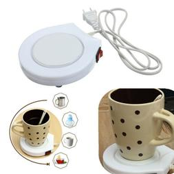 22W Electric Heating Coaster Insulated Tea Coffee Mug Cup Pl