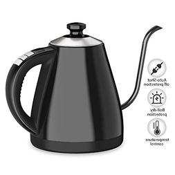 Electric Gooseneck Kettle  with Keep Warm Function and Varia
