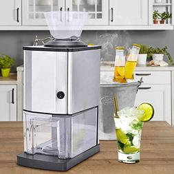 Costzon Electric Ice Crusher, Stainless Steel Ice Shaved Mac