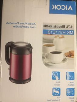 Electric Kettle, AICOK, Cool Touch, Rapid Boil, 1500W, Stain