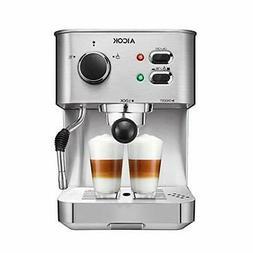 AICOK Espresso Machine, Cappuccino Coffee Maker with Milk St