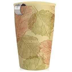 Tea Forté KATI Cup Ceramic Tea Brewing Cup with Infuser Bas
