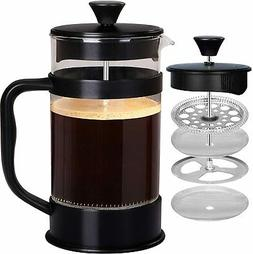 French Coffee Press 34 Oz Espresso Tea Maker with Triple Fil