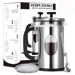 French Press Coffee Maker,Coffee French Press Tea Maker 34 o