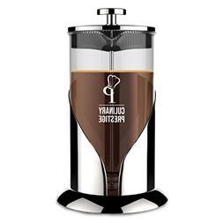 French Press Coffee  Tea Maker | 8 Cup  - Guaranteed Perfect