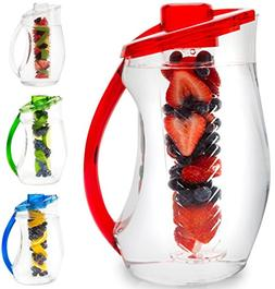 Fruit Infusion Pitcher Drink Healthy Water Elegant Design Se