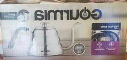 Gourmia GCK9975 Pour Over Coffee Kettle with Built In Thermo