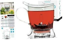 GROSCHE Aberdeen Perfect Tea maker - Teapot Set with Coaster