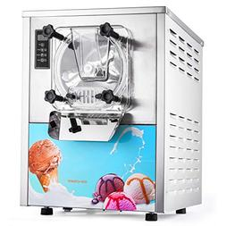 Happybuy 1400W Commercial Hard Ice Cream Maker for Recreatio