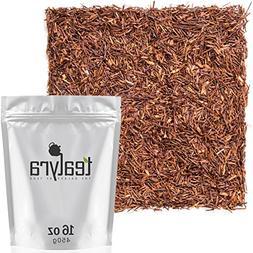 Tealyra - Pure Rooibos Red Herbal Tea - African Red Bush Loo