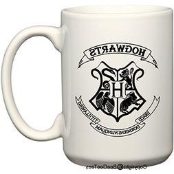 HOGWARTS - Harry Potter Coffee or Tea Cup 15 oz Mug for Wiza