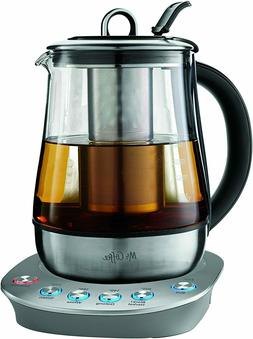Hot Tea Maker and Kettle, Stainless Steel, 1
