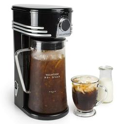 Iced Coffee Maker and Tea Brewing System, Glass Pitcher, 3 q