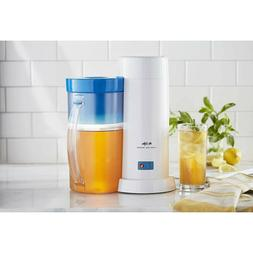 Iced Coffee Tea Maker 2 Quart Machine Blue Electric Removabl