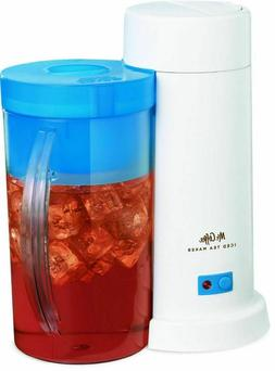 "Iced Tea Machines Mr. Coffee 2-Quart "" Maker, Blue Electric"