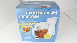 Hamilton Beach Iced Tea Maker 2 Qt Capacity 40911 Brand New