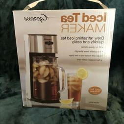 Capresso 80 oz  Iced Tea Maker with Glass Pitcher NO SALES T