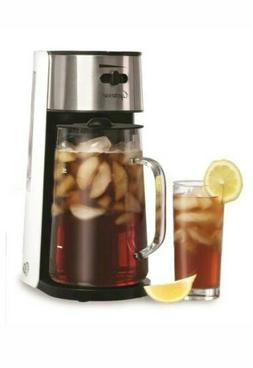Capresso Iced Tea Maker & Glass Carafe with Stainless steel