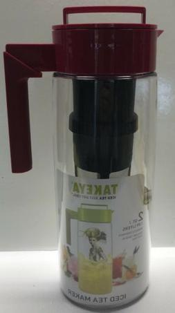 Takeya Iced Tea Maker W/Flash Chill Technology 2Qt. USA Made