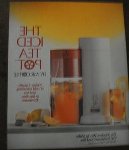 Mr. Coffee Iced Tea Pot Maker TM1