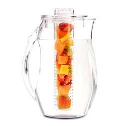 Infusion Pitcher Tea Fruit Ice Core Rod Water Filter Glass C