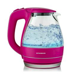 Ovente KG83 Series 1.5L Glass Electric Kettle Small Applianc