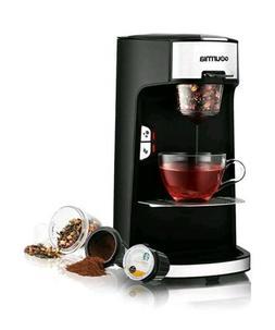 Gourmia Kitchen Coffee Tea Maker Single Serve Auto Shut off