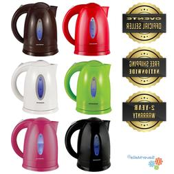 Ovente Electric Water Kettle 1.7 Liter Auto Shutoff with LED