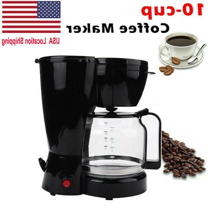 10 cup coffee maker auto shut off