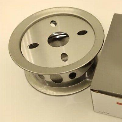 2X(Stainless Steel Round Maker Base X1M0