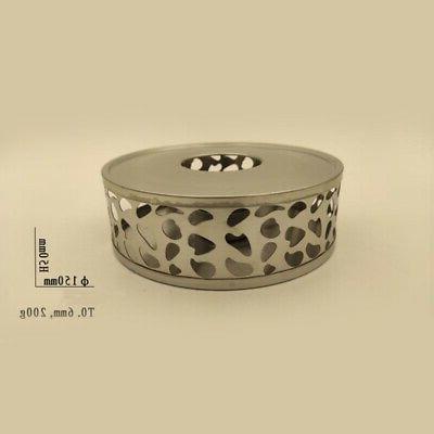 2X(Stainless Steel Tea Round Base Tea X1M0