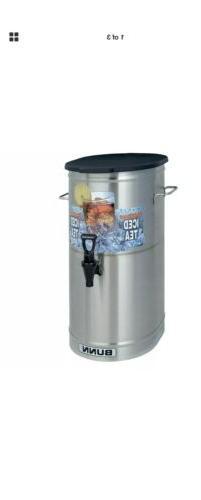 Bunn 34100.0002 TDO-4 4 Gallon Iced Tea Dispenser with Brew-