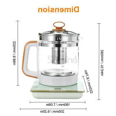 800W Electric Kettle 1.8L Automatic Hot Home Afternoon Machine