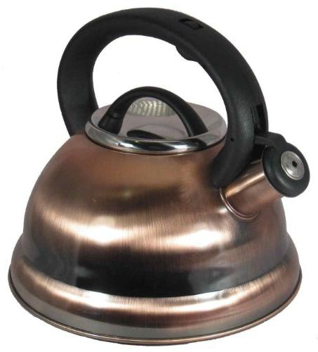 Alpine Cuisine TK3001C Stainless Steel Teakettle, Tea Pot, 2
