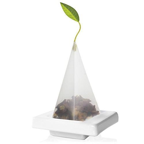 Tea Forte Ceramic TEA TRAY for Presenting and Resting Signat