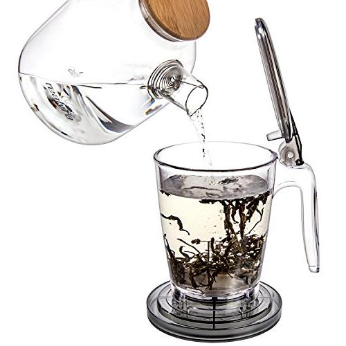 Tealyra - 30-ounce Tea Best Tea Makes a Perfect of Leaf Tea Dispensing - Free - 900ml