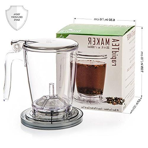 Tealyra MAKER - 30-ounce - Tea Best Maker a Perfect of Leaf Tea - Dispensing Free Guarantee 900ml