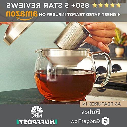 - and Glass Tea Holds Loose Leaf Iced Blooming Flowering Kettles Tea Tea