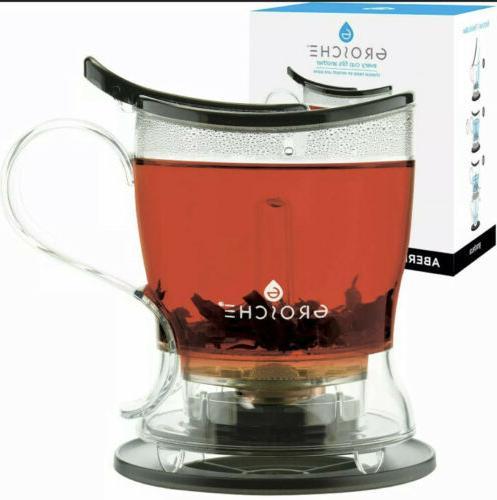 aberdeen perfect tea maker tea steeper teapot