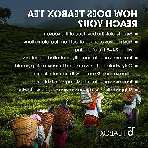 Teabox Spiced | Natural Spices Black Clove, | Best Breakfast Chai | Tea