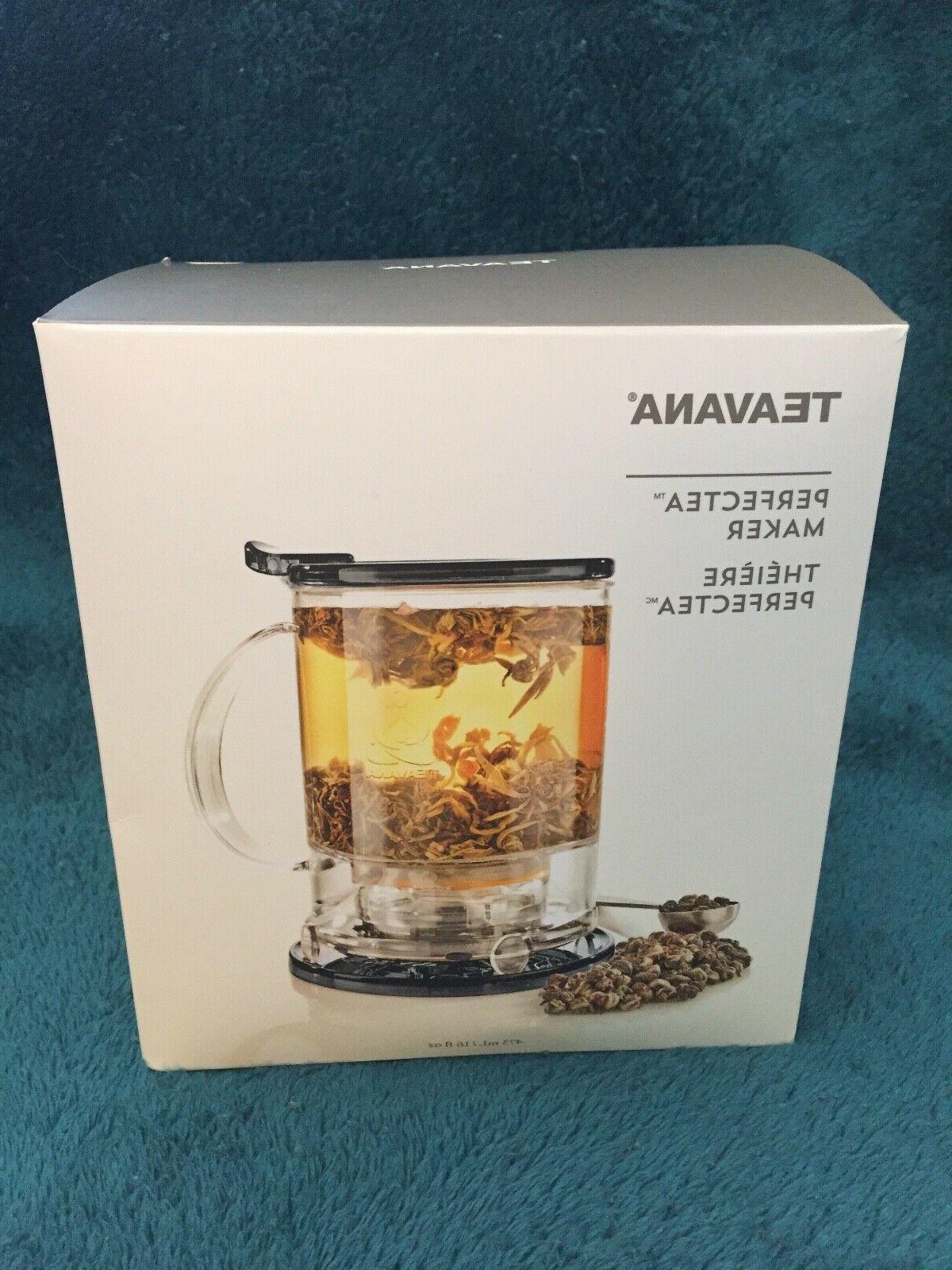 brand new perfectea tea maker bpa free